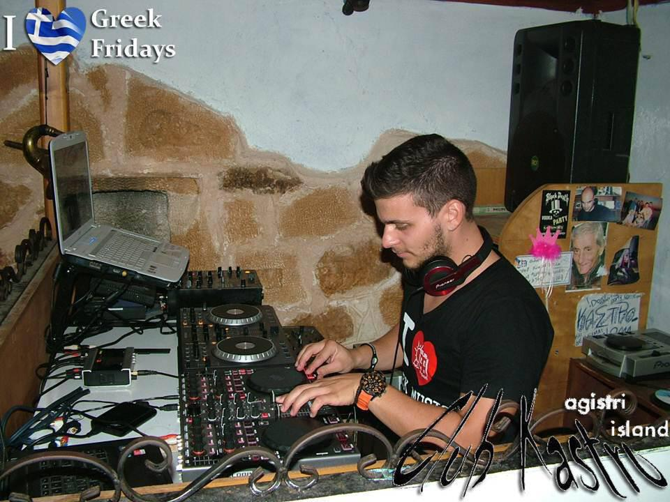 I ♥ Greek Fridays @ Club Kastro 10/08/2012